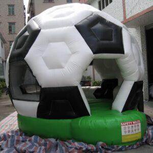 Fussball Hüpfburg Expofair