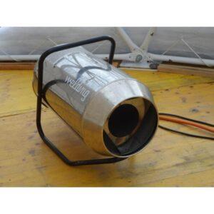 Gasheizung mit Heizschlauch