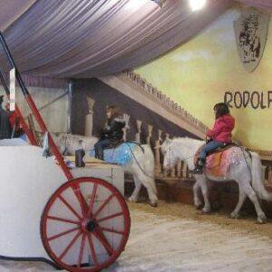 Ponyreiten im Ponypalast